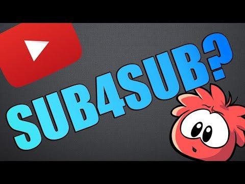 SUB4SUB: Should You Do It? [YouTube Tip #1]