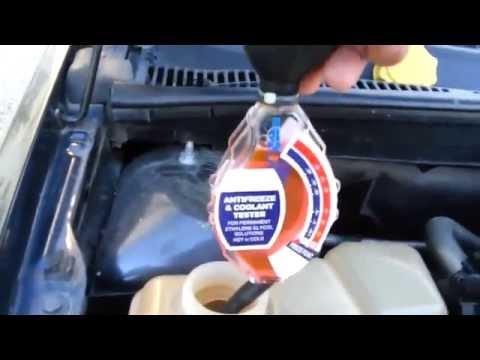 Ford Fiesta Mk6 - Coolant test