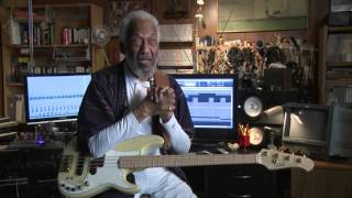 """""""Respect your fellow musicians""""!   Ray Brown, Chuck Rainey, Tommy Tedesco, Michel Legrand."""