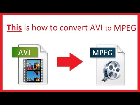 How to convert AVI to MPEG on windows using the best AVI to MPEG converter