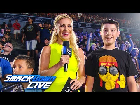 Xxx Mp4 Sarah Schreiber Puts The WWE To The Test SmackDown Exclusive July 16 2019 3gp Sex