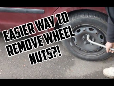 HOW to REMOVE WHEEL NUTS EASILY
