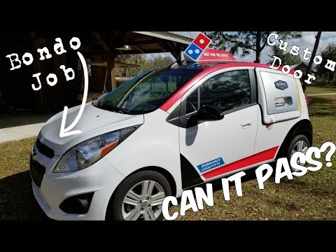 Can a Domino's DXP Pizza Car Pass a Salvage Rebuild Inspection?