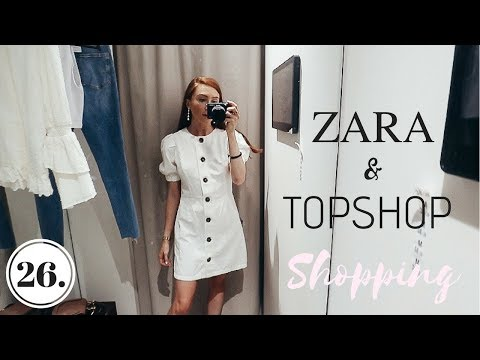 COME SHOPPING TO ZARA WITH ME + NEW BAG REVEAL | Vlog 26