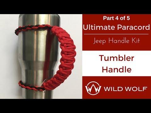 Ultimate Paracord Jeep Handle Kit-Part 4 – Tumbler Handle