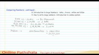 04 Introduction To Large Numbers Lakhs Crores Cbse Maths
