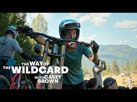 THE BAREFOOT BIKER: Casey Brown's way of the wildcard.