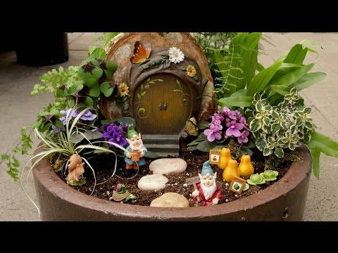 Miniature Gnome Garden // Garden Answer