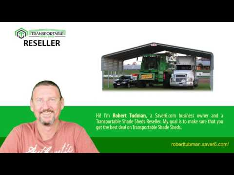 Easy Erection Transportable Shade Sheds in (Cairns) - (Robert Tudman)