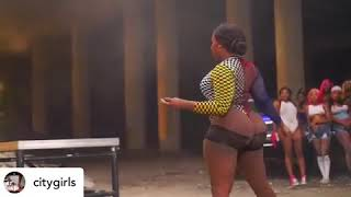 🍑💦twerk challenge dance competition city girls twerk ft cardi B
