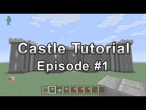 Castle Tutorial Minecraft Xbox 360 #1