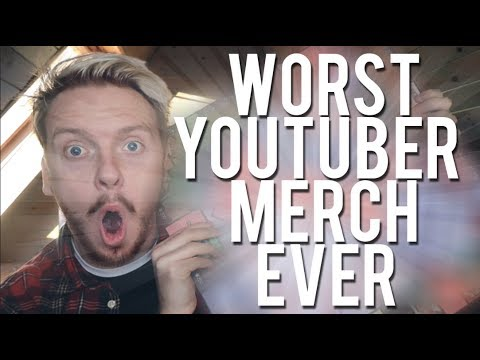 YOUTUBER MERCH HAS JUST HIT A NEW LOW...