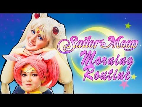 Sailor Moon's Morning Routine | Maker Studios SPARK