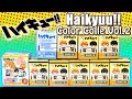 Anime Haikyuu!! Color Colle Part2 with Exclusive + Soft Ball Mascot Surprise Blind Boxes Unboxing