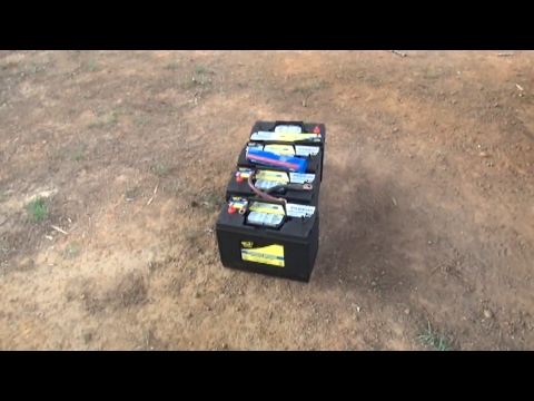 New batteries for the Volvo semi truck