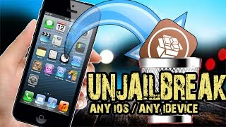 How To Remove Uninstall Delete Cydia Unjailbreak Iphone Ipad And Ipod