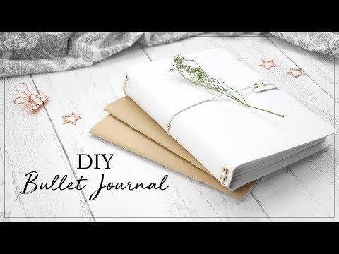 DIY Bullet Journal | Traveler's Notebook Style