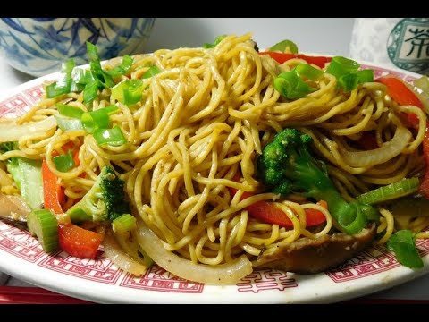 Spicy Stir Fry Vegetable Chow Mein