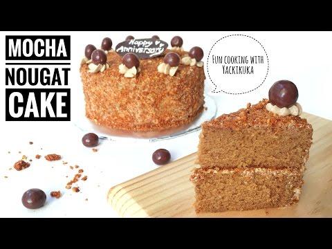 Resep Mocha Nougat Cake