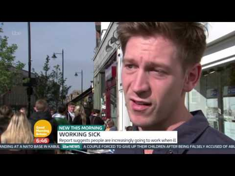 Going Into Work Sick - Do You Do It? | Good Morning Britain