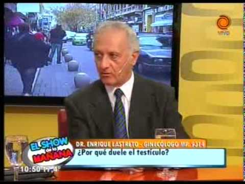 Por qué duele el testiculo   Dr Enrique Lastreto 05 05 2014
