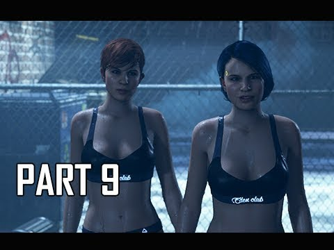 DETROIT BECOME HUMAN Gameplay Walkthrough Part 9 - EDEN CLUB (PS4 Pro 4K Let's Play)