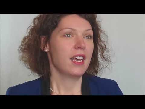 Marie Astrid Baillet of Luxair in Dublin, Nov 16 2017
