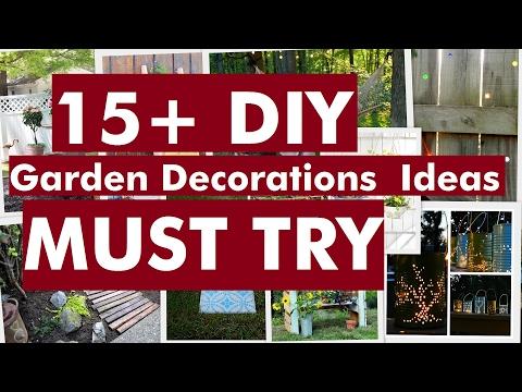 15+ DIY Garden Decorations Ideas - Must Try