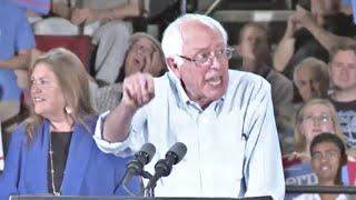 Bernie Sanders Portland Rally with Crowd of 20,000