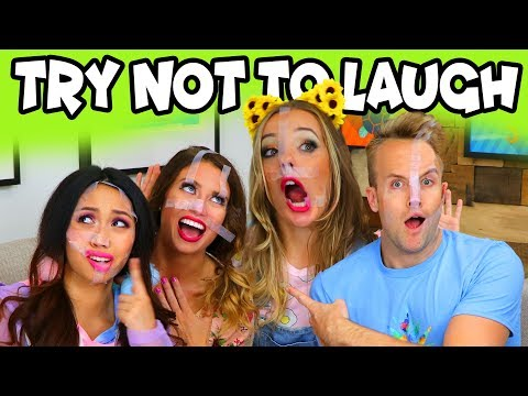 Try Not To Laugh Challenge with Jokes . Totally TV