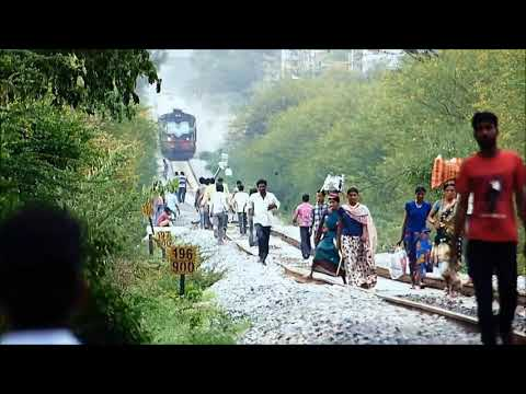 PEOPLE MADLY CHASED BY DANCING TRAIN : Indian Railways