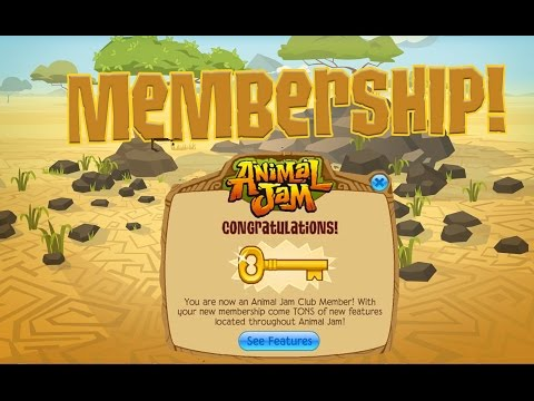 I AM A MEMBER? + SUPER COOL UPDATES - ANIMAL JAM