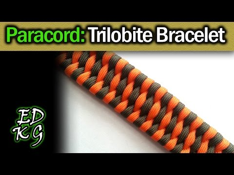 Trilobite Bracelet - Simple Paracord Tutorial