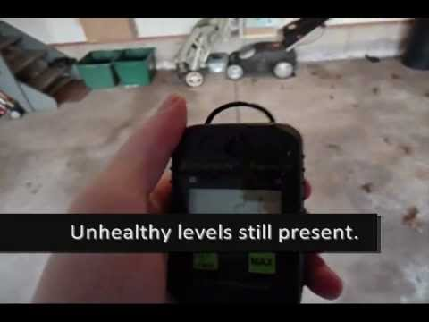 Demo: Carbon Monoxide from Car Exhaust & Carbon Monoxide in your Garage
