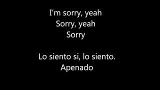 Justin Bieber - Sorry ft. J Balvin (Lyric + Español)