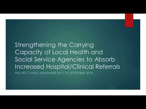 02.07.18 Webinar | Carrying Capacity of Health/Social Services to Absorb Increased Referrals
