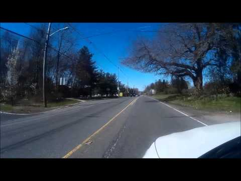 A Drive Through Old Bridge, NJ  Part 4.  Rt 516--Lakeridge To Bushnell