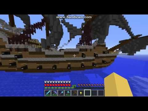 Minecraft Pirate Ship by Smellyelliebelly
