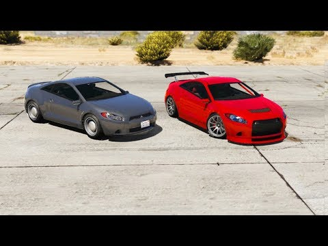 GTA 5 - Stock VS Fully Upgraded Car (Speed, Braking, Armor,...)