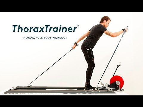 ThoraxTrainer Indoor Skier - Full Body Workout