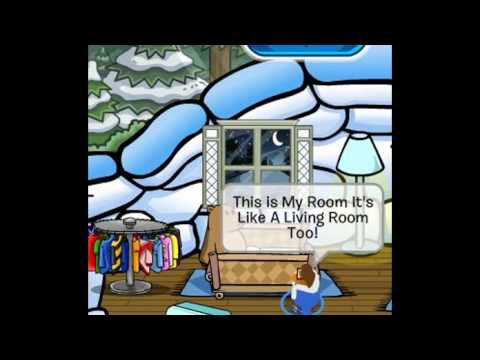 How To Make A Crib On Club penguin (A Crib For A Pookie)
