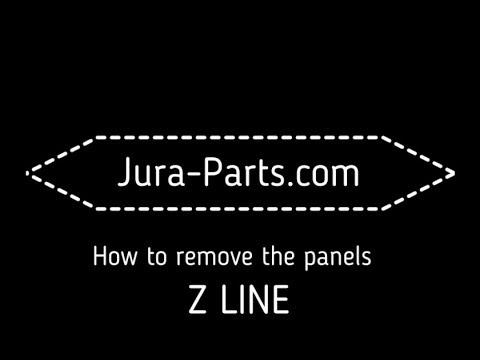 How to Open Jura Z5-Z6-Z7-Z9 Coffee Machines