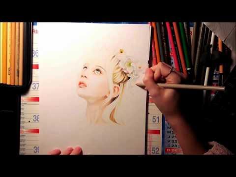 【Drawing】 Joy (Red Velvet) Flower crown