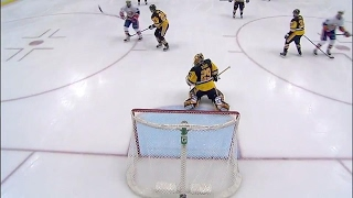 Nelson denied goal in first, makes up for it in the second