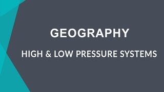 How Does High And Low Pressure Affects Precipitation