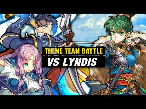 INFERNAL Lyn: Lady of the Wind Vs. Hector, Florina & FE7 Units -Fire Emblem Heroes Theme Team Battle