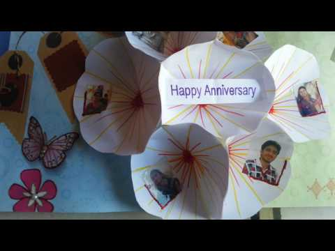 Handmade Anniversary Gift for Mom n Dad