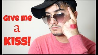 Give me a KISS!! | Shahveer Jafry