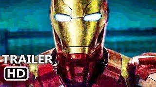 "BLACK PANTHER ""Iron Man"" International Trailer (2018) Superhero Marvel Movie HD"