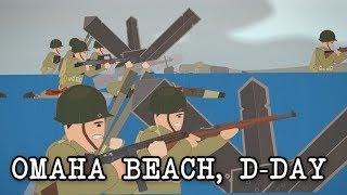 Omaha Beach, D-Day (June 6, 1944)